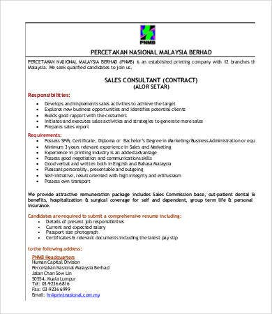 sales consultant contract template 22 sales contract templates free sample example