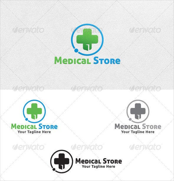 Medical Store Logo