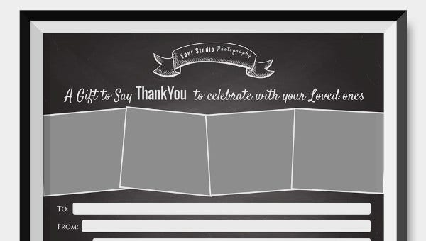 gift certificate word templates