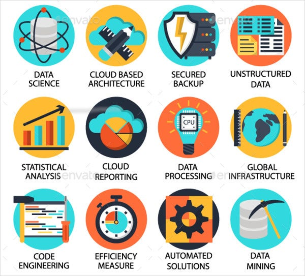 Data Science Icons
