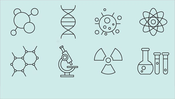 science icons feature images
