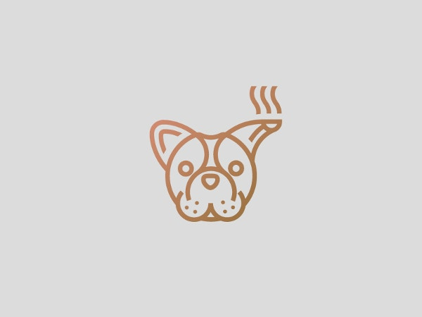 Dog-teapot logo