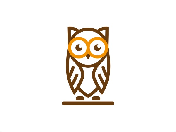 owl logo by david artoumian