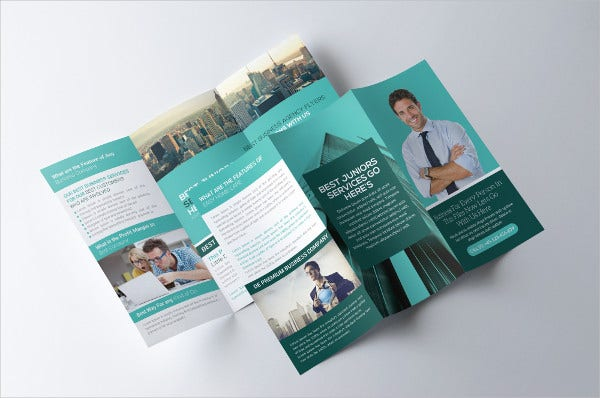 Trifold Consultant Brochure