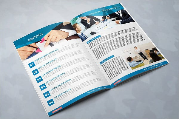 Multipurpose Consulting Brochure