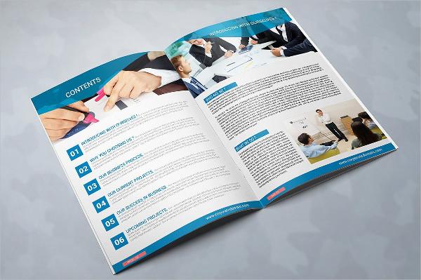 multipurpose consulting brochure