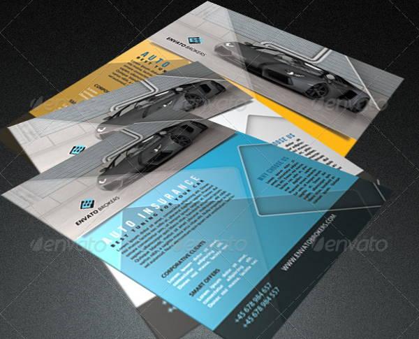 Auto Insurance Flyer