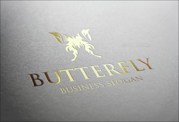 butterfly clothing logo