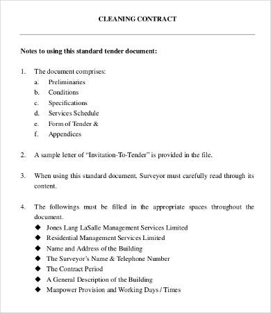 8+ Business Contract Templates - Free Sample, Example, Format