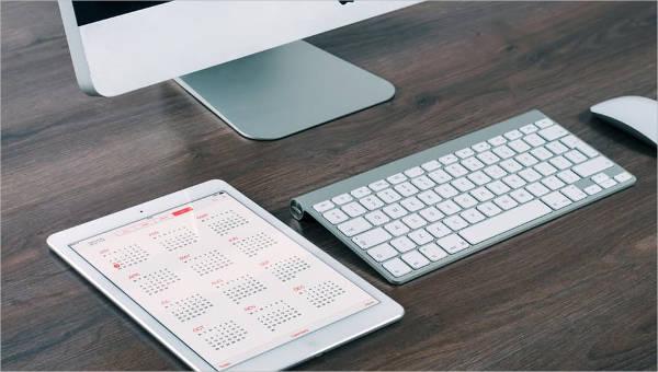 monthly agenda templates