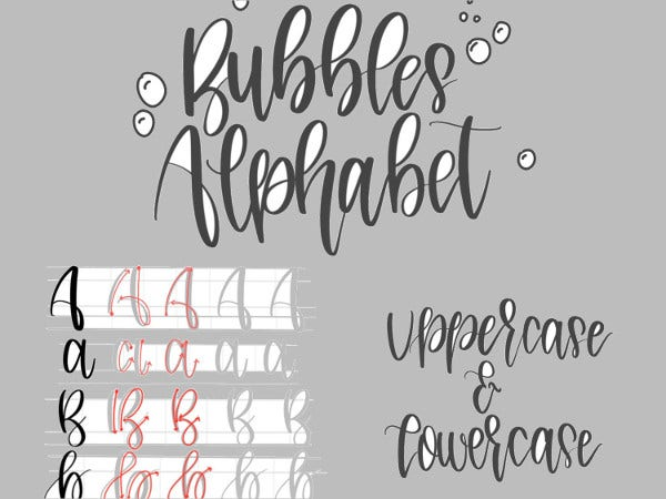 pretty bubble letters printable letters 9 free psd vector ai eps 11876 | Lowercase Bubble Letters