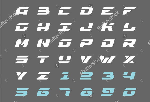 9+ Printable Letter Stencils - Free Sample, Example, Format