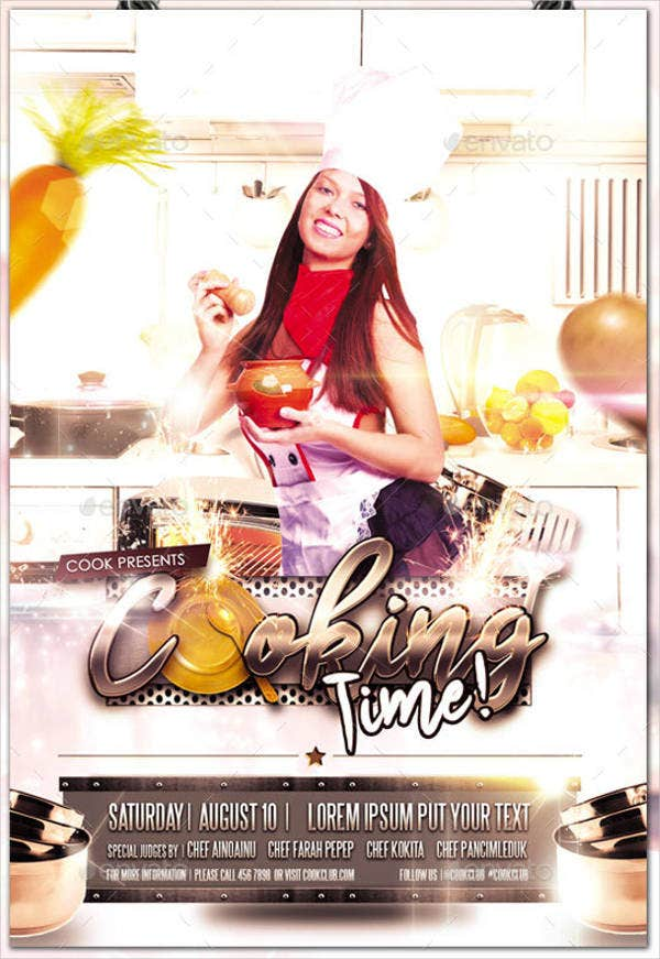Cooking Time Flyer