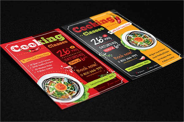 kitchen cooking flyer template