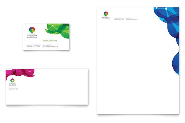 Network Administration Letterhead Template