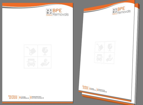 Letterhead Design For Company  Business Letterhead Samples
