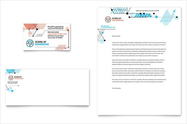 Computer Engineering Letterhead Template