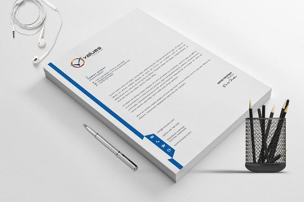14 Company Letterhead Designs Free Psd Ai Word Format Download