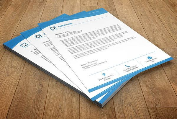 Business Agency Company Letterhead