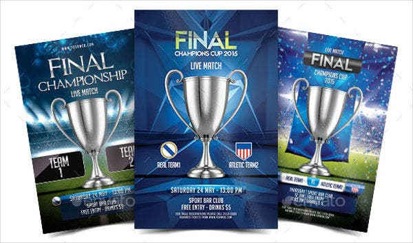 Final Champion Cup Flyer