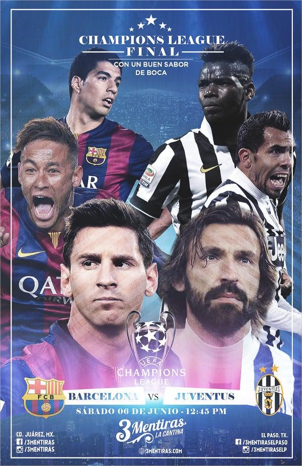 Champion League Flyer