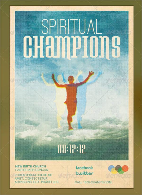 Spiritual Champion Flyer