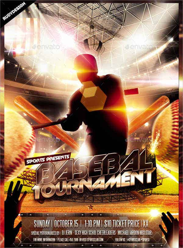Baseball Flyers 9 Free PSD Vector AI EPS Format Download – Baseball Flyer