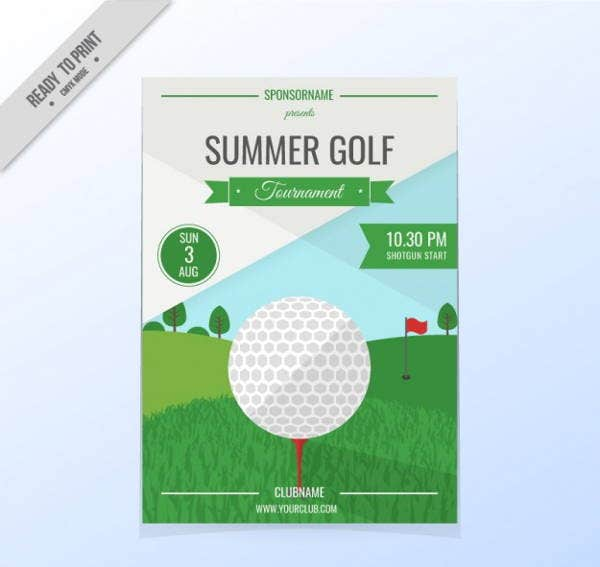 golf-tournament-flyer
