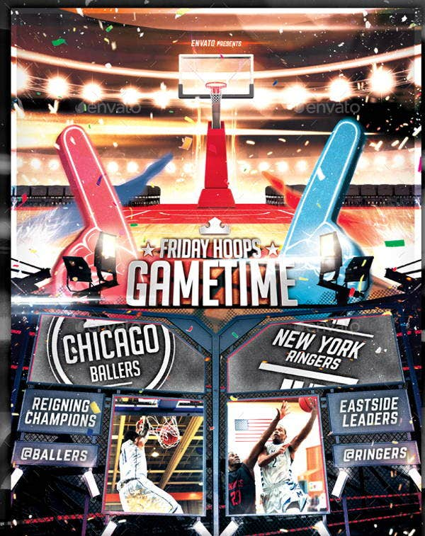 Basket Ball Tournament Flyer