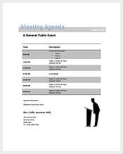 Free Conference Agenda Template Download  Agenda Download Free