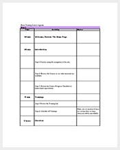 Free-Basic-Training-Agenda-Template-Excel