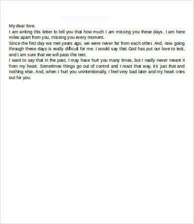 emotional letter to boyfriend