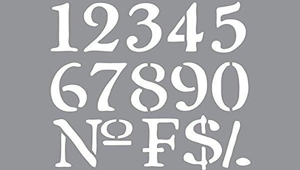 numberstencils