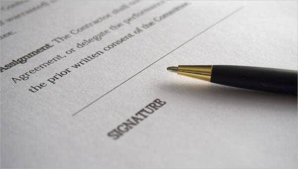 service contract templates