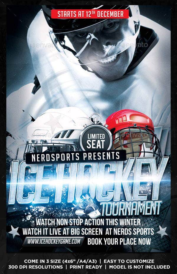 hockey-tournament-flyer