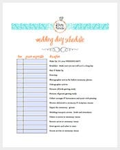 Free-Wedding-Itinerary-Template