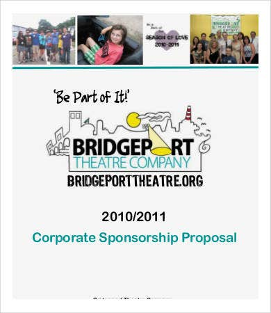 corporate sponsorship proposal