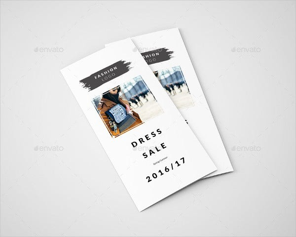 sales brochure example