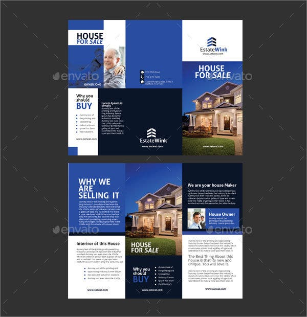 House for Sales Brochure