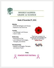 Free-Weekly-Agenda-Template