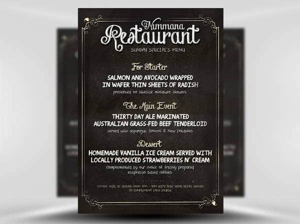 chalkboard-menu-flyer