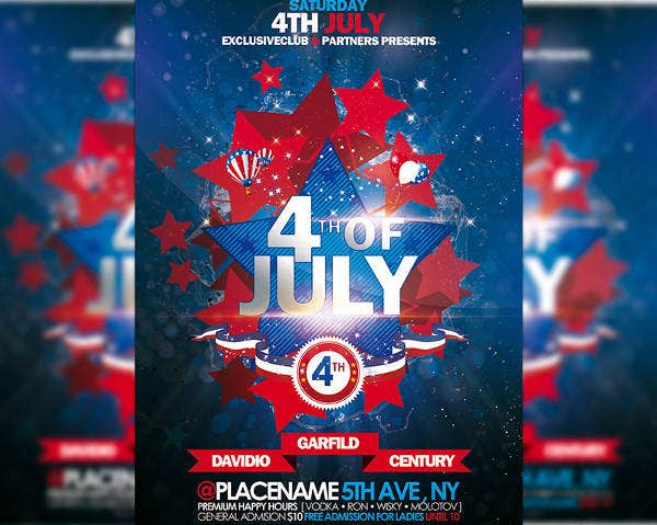 Patriotic Premium Flyer Template