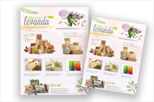 sales promotion brochure