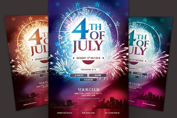 4th of July Patriotic Flyer
