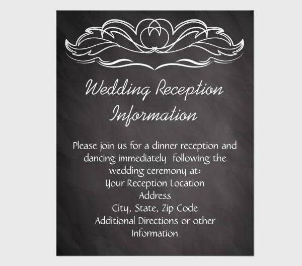 chalkboard-wedding-flyer