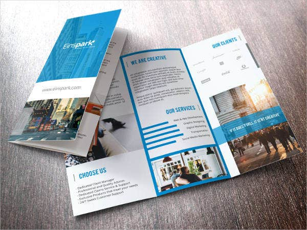 Sales and Marketing Brochure