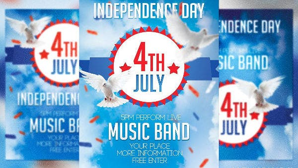 patriotic flyer templates