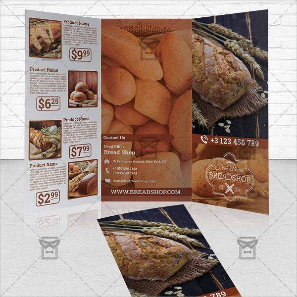 bakery-food-brochure