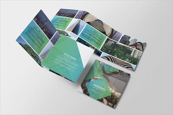 Landscape Tri-fold Brochure