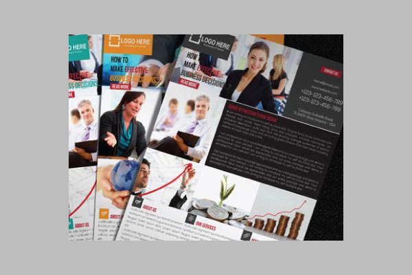 Media Company Flyer